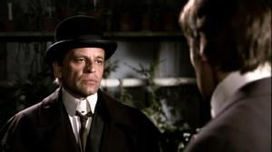 Jack the Ripper staring the Inspector out