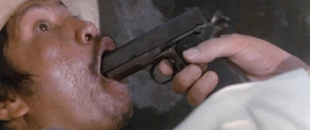 Man With Gun In Mouth 112